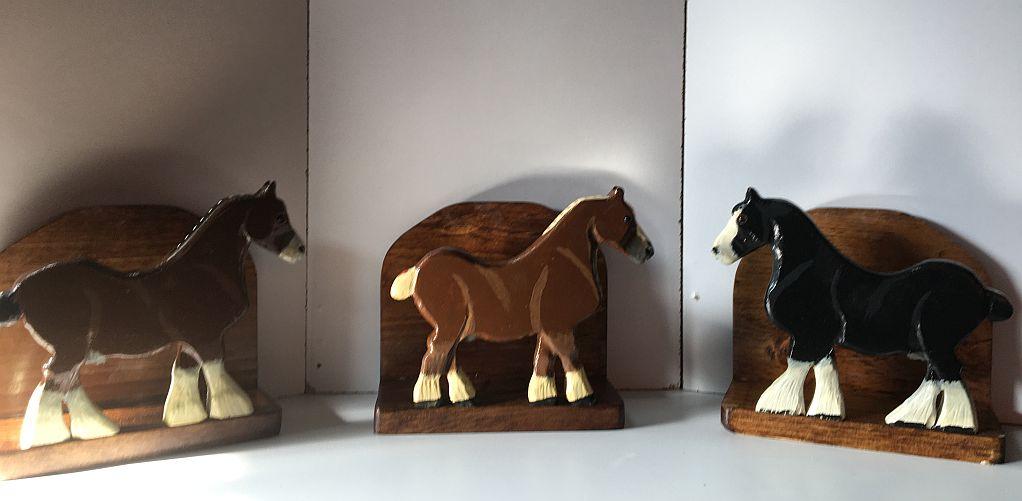 3 WORK HORSES