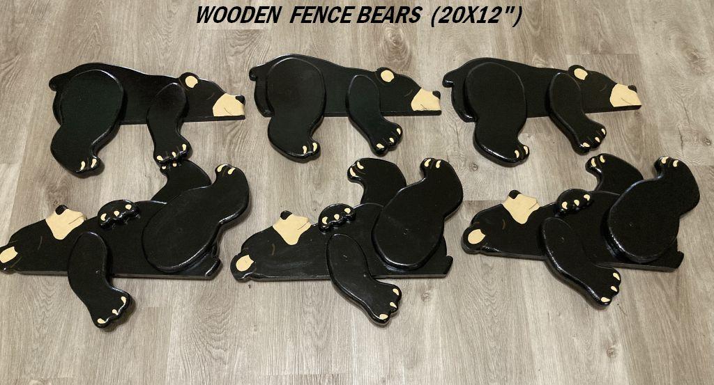 FENCE BEARS
